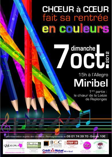 Affiche concert 2013
